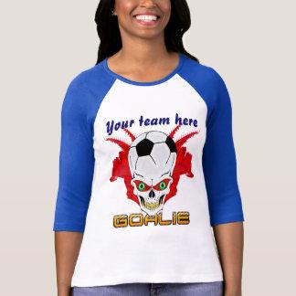 Soccer Goalie Women All Styles Light View Hints T-Shirt