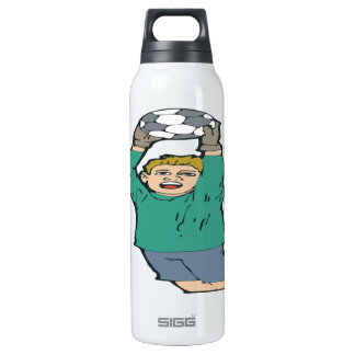 Soccer Goaltender 16 Oz Insulated SIGG Thermos Water Bottle