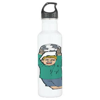 Soccer Goaltender 24oz Water Bottle