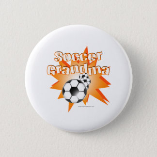 Soccer Grandma Button