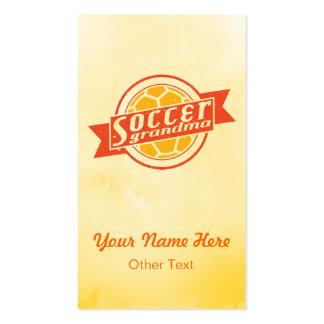 Soccer Grandma  Customizable Business Cards