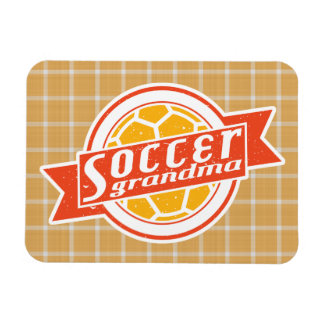 Soccer Grandma Rectangular Photo Magnet