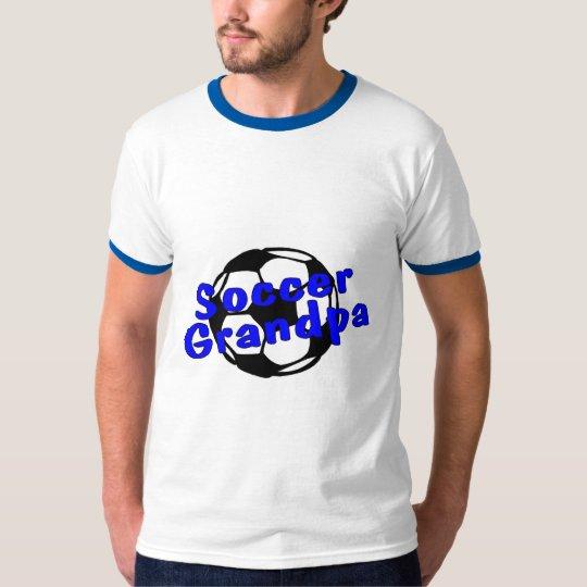 Soccer Grandpa (Blue) T-Shirt