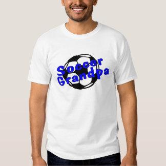Soccer Grandpa Blue T-shirt