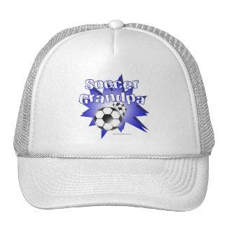 Soccer Grandpa Trucker Hats