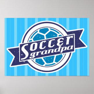 Soccer Grandpa Print