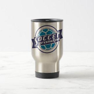 Soccer Grandpa Travel Mug