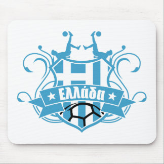 soccer GREECE Mouse Pad