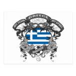 Soccer Greece Postcard