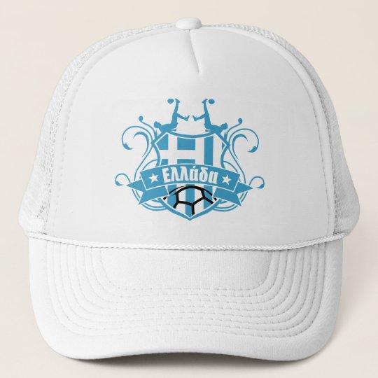 soccer GREECE Trucker Hat