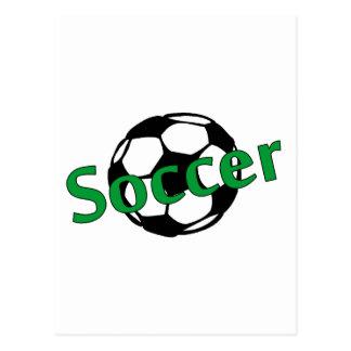 Soccer (Green) Postcard