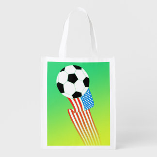 Soccer Grocery Bags