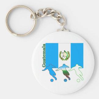 Soccer Guatemala Keychain