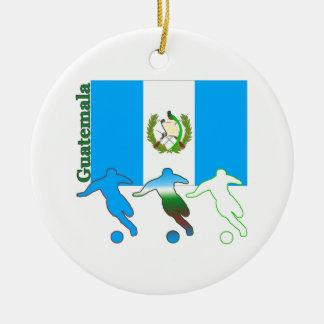 Soccer Guatemala Christmas Tree Ornament