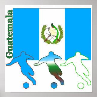 Soccer Guatemala Poster