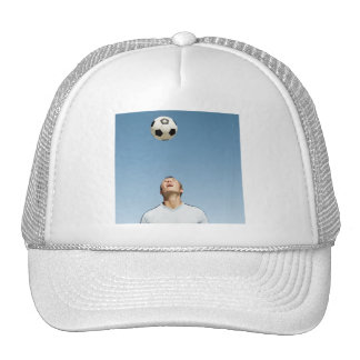 SOCCER HEADER TRUCKER HAT