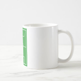 soccer,Heart Pitch.l love soccer Coffee Mug