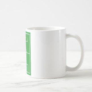 soccer,Heart Pitch.l love soccer Classic White Coffee Mug