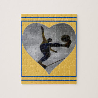 SOCCER HEART PUZZLE