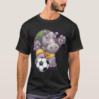 Soccer Hippo Men's T-Shirts