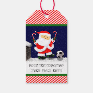 Soccer Holidays Gift Tags