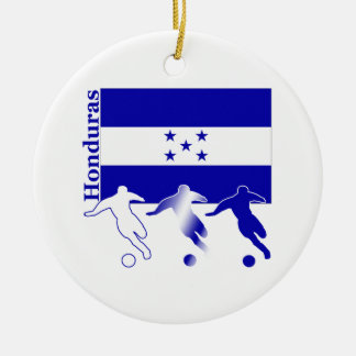 Soccer Honduras Ceramic Ornament