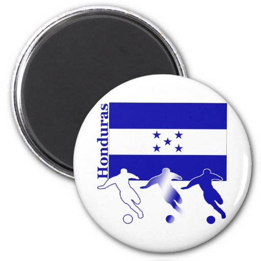 Soccer Honduras Fridge Magnets