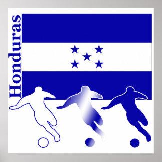 Soccer Honduras Poster