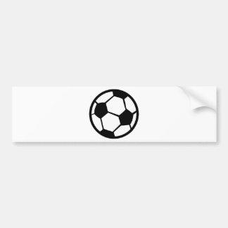 soccer icon bumper sticker