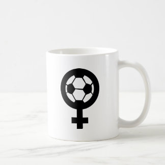 soccer icon für women coffee mugs