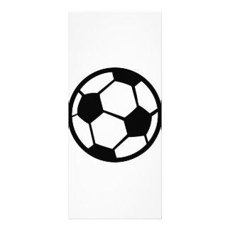 soccer icon rack card