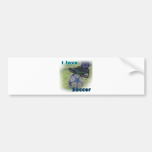 Soccer iGuide Tackle Bumper Stickers