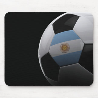 Soccer in Argentina Mousepad