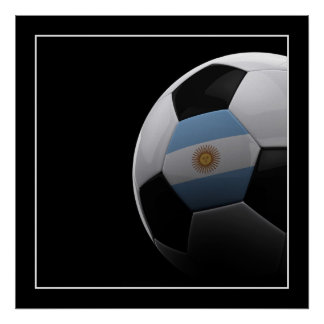 Soccer in Argentina - POSTER