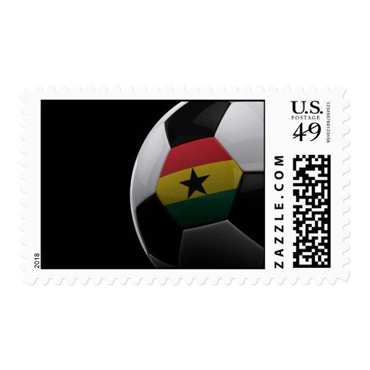 Soccer in Ghana Postage