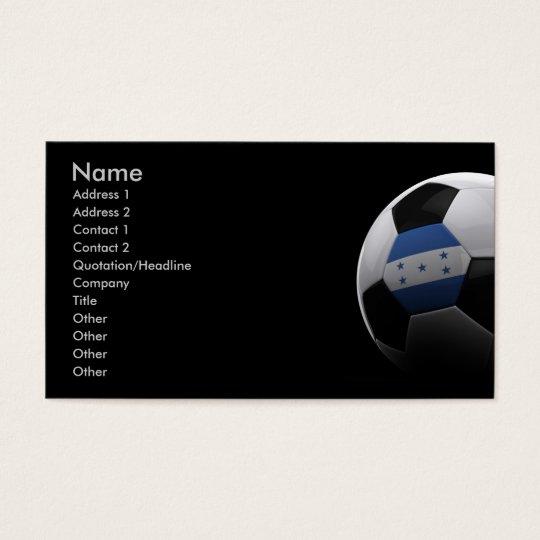 Soccer in Honduras Business Card