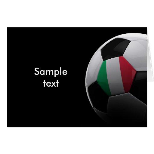 Soccer in Italy Card
