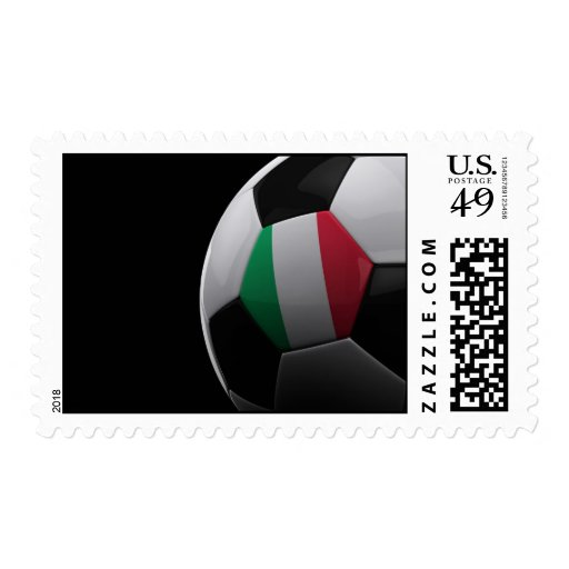 Soccer in Italy Postage Stamps