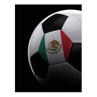 Soccer in Mexico Postcard