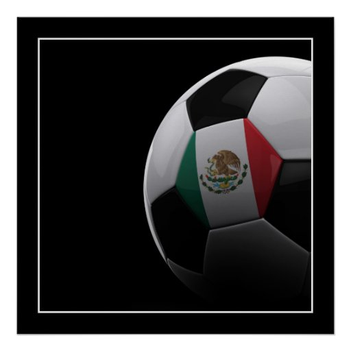 Soccer in Mexico - POSTER