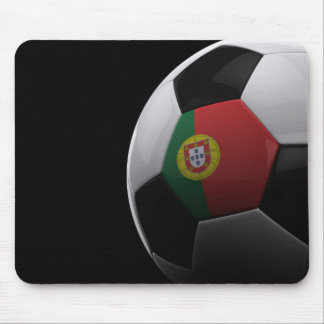 Soccer in Portugal Mousepads
