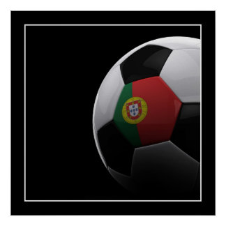Soccer in Portugal - POSTER