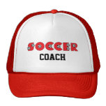 Soccer in Red Hats