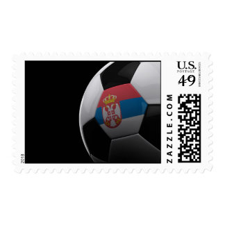 Soccer in Serbia Postage