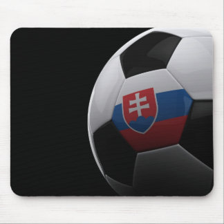 Soccer in Slovakia Mouse Pad