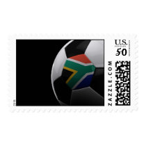 Soccer in South Africa Postage