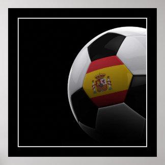 Soccer in Spain - POSTER