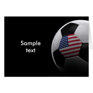 Soccer in the USA Card