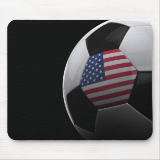 Soccer in the USA Mouse Pad