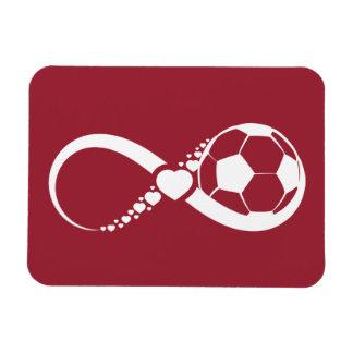 Soccer Infinite Love Rectangular Photo Magnet